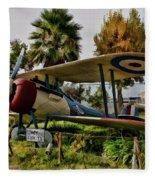 Nieuport 28 Fleece Blanket