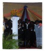 Nigerian Church Choir Fleece Blanket