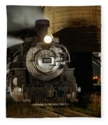 Night At The Water Tower Fleece Blanket