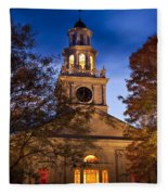 Night Church Fleece Blanket