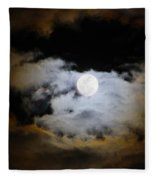 Night Of The Full Moon Fleece Blanket