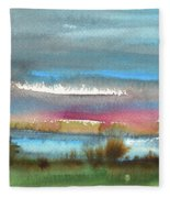Nightfall 27 Fleece Blanket