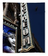 Nightfall At The Orpheum - San Francisco California - 5d17991 Fleece Blanket