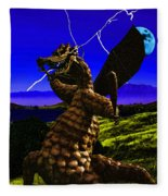 Nightmare After Midnight Fleece Blanket