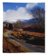Nire Valley Drive, County Waterford Fleece Blanket