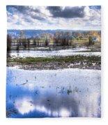 Nisqually Wildlife Refuge P13 Fleece Blanket