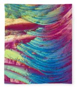 Nitroglycerin Fleece Blanket