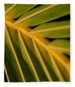 Niu - Cocos Nucifera - Hawaiian Coconut Palm Frond Fleece Blanket