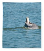 No Snook Limit For This Guy Fleece Blanket