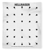 No033 My Hellraiser Minimal Movie Poster.jpg Fleece Blanket