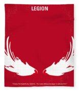 No050 My Legion Minimal Movie Poster Fleece Blanket