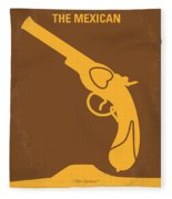 No077 My The Mexican Minimal Movie Poster Fleece Blanket
