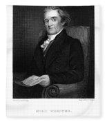 Noah Webster (1758-1843) Fleece Blanket