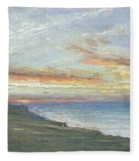 Norfolk Coast Fleece Blanket