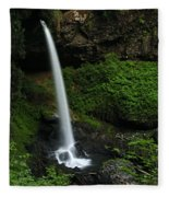 North Falls Oregon Fleece Blanket