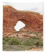 North Window Arch Fleece Blanket