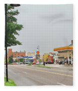 North Winooski Ave. Fleece Blanket