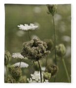 Not Just A Weed Fleece Blanket