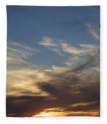 Nothing But Sky Fleece Blanket