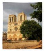 Notre Dame De Paris 2 Fleece Blanket