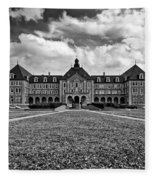 Notre Dame Seminary Monochrome Fleece Blanket