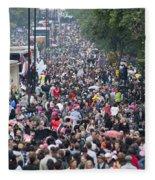Notting Hill Carnival Fleece Blanket