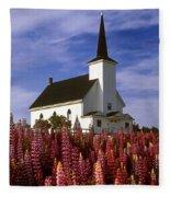 Nova Scotia Church Fleece Blanket