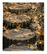 Oak Creek Steps Fleece Blanket