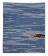Oak Leaf Floating Fleece Blanket