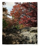 Oak Rock Fleece Blanket