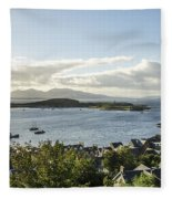 Oban Bay View Fleece Blanket