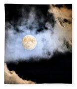 Obscured By Clouds Fleece Blanket