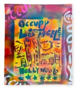 Occupy Hollywood Fleece Blanket