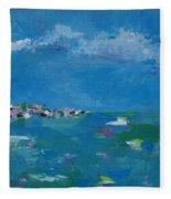 Ocean Delight Fleece Blanket