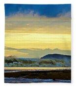 Ocean Power Series 3 Fleece Blanket
