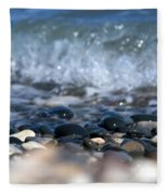 Ocean Stones Fleece Blanket