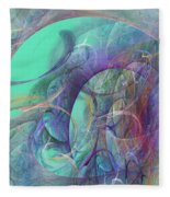 Ocean Symphony I Fleece Blanket