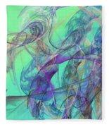 Ocean Symphony II Fleece Blanket
