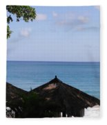 Ocean View Fleece Blanket
