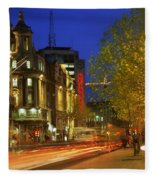 Oconnell Street Bridge, Dublin, Co Fleece Blanket