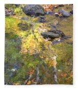 October Colors Reflected Fleece Blanket