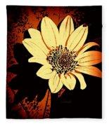 October Jewel Fleece Blanket