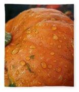 October Rain Drops Fleece Blanket