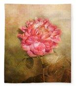 October Rose Fleece Blanket