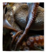 Octopus 1  Fleece Blanket