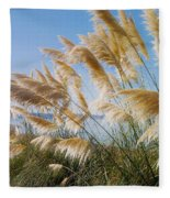 Of Sun And Sky And Wind Fleece Blanket