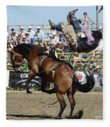 Rodeo Off In A Flash Fleece Blanket
