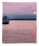 Off Into The Sunset Fleece Blanket
