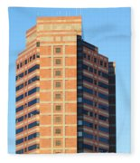 Office Building Fleece Blanket