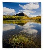 Ogilvie Mountains Along Dempster Fleece Blanket